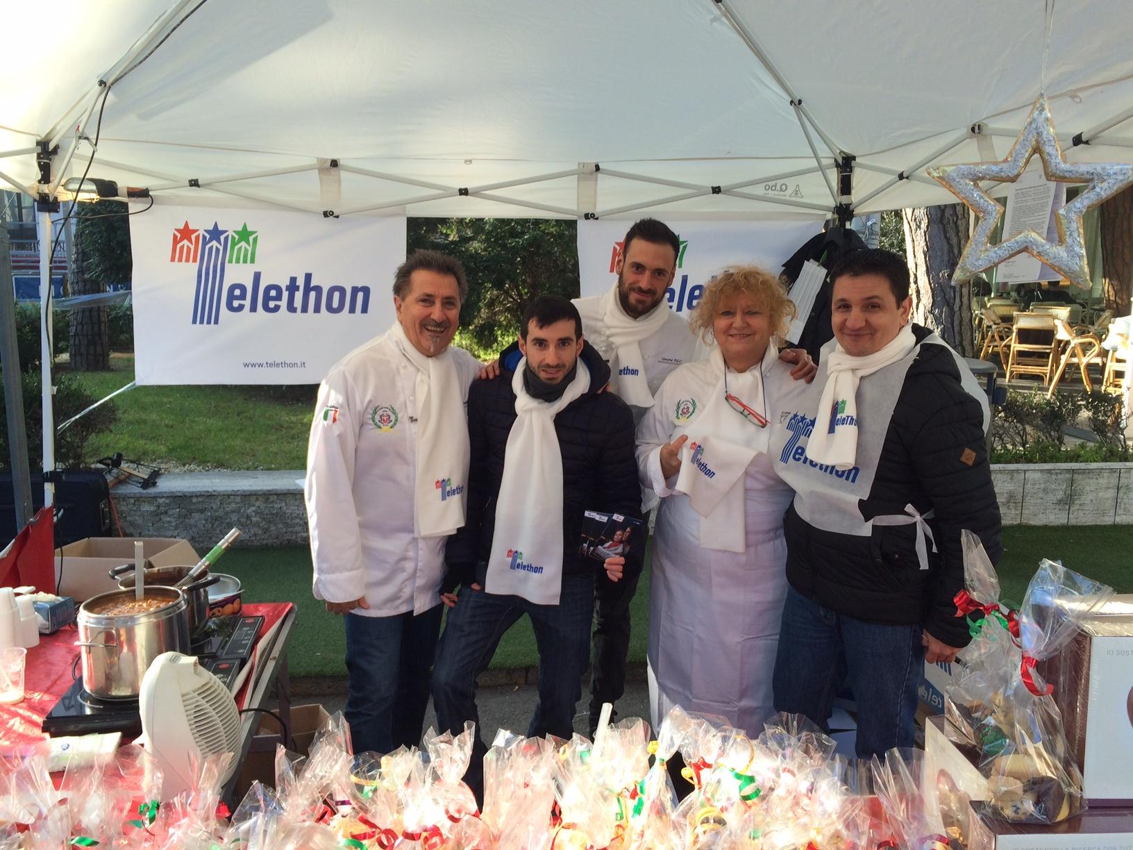 Associazione Cuochi Romagnola e Matteo Gentilini per Telethon